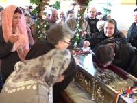 Sute de credincioși s-au închinat la moaștele Sfintei Filofteia, în Alba Iulia