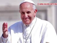 Papa Francisc îndeamnă polițiștii să fie mai blânzi cu șoferii care încalcă regulile