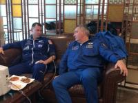 Primele imagini cu cei doi astronauți după aterizarea de urgență. FOTO și VIDEO