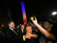 Iohannis, către românii din Roma: Pacea socială în țară se reclădeşte