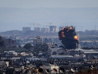 Bebeluş palestinian ucis în urma unui raid aerian israelian în Fâşia Gaza