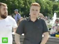 Reporterul rus pocnit cu pumnul în față în timp ce transmitea LIVE s-a sinucis. Ultimul mesaj