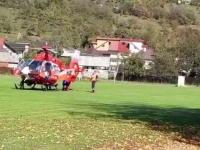 Un elev a căzut de la etajul al doilea al unei școli din Bistrița. Cum s-a produs accidentul