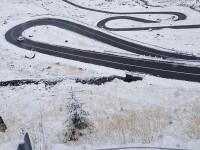 Transfăgărășanul a fost acoperit de zăpadă