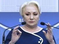 Dăncilă anunță că merge cu remanierea în Parlament dacă moţiunea nu trece