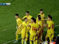 România U21 - Ucraina U21 3-0 în calificările pentru Euro2021. Două goluri pe final de meci