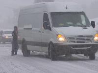 Zăpadă pe şosele şi temperaturi de -20 de grade. Regiunea unde iarna a venit în forţă