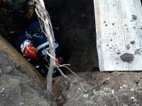Muncitor mort în județul Mureș. A rămas blocat sub un mal de pământ