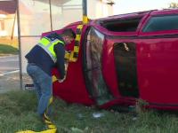 Accident cu 5 victime la Voinești. Printre răniți, doi copii
