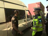 Șoferi băuți și probleme tehnice. Pericolele găsite de polițiști pe șoselele din România
