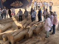 Peste 20 de sarcofage sigilate, descoperite în Egipt. Ce s-ar putea găsi în ele