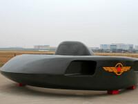 Elicopterul de atac al Chinei care arată ca un OZN. Pare din filmele SF ale anilor 1950