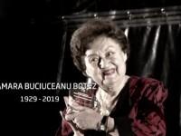 Trupul neînsuflețit al Tamarei Buciuceanu Botez, depus la Teatrul Bulandra
