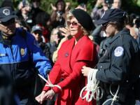Celebra Jane Fonda, în vârstă de 81 de ani, a fost arestată din nou la un protest