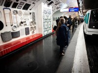 113 ani de închisoare pentru un clan din România. Și-au pus copiii să fure în metroul din Paris