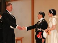 Klaus și Carmen Iohannis, la banchetul imperial din Japonia. Ținutele purtate de cei doi