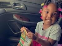 Momentul în care o fată de 3 ani este ademenită cu bomboane de un criminal. VIDEO