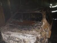 O mașină a luat foc și a explodat în timp ce livra pizza. Ce s-a întâmplat cu șoferul