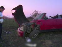 Șoferiță găsită în stare gravă în mașină, pe marginea autostrăzii A1. Ce s-ar fi întâmplat