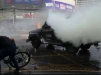 Noi proteste violente în Chile. Sportivii români sunt în continuare în Capitală