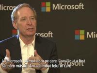 INTERVIU EXCLUSIV. Ce spune presedintele Microsoft despre dosarul in care apare numele firmei