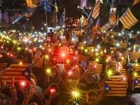 Manifestație în Hong Kong pentru susținerea independenței Cataloniei