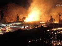 Imagini apocaliptice în California. Incendiile de vegetație au mistuit totul în cale