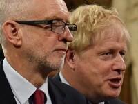 """Boris Johnson îi cere lui Corbyn să accepte alegerile anticipate. Să fie """"bărbat"""""""