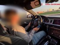 Un cunoscut vlogger din România a lăsat un copil de 10 ani să conducă o mașină. VIDEO