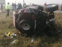 Accident grav pe o șosea din Bihor. Doi soți au murit și un copil a fost rănit