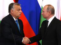 """Viktor Orban, întâlnire cu Vladimir Putin. """"Ungaria nu exclude cooperarea cu Rusia"""""""