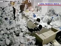 Ce se vede în imaginile cu presupusa fraudă la sacii de voturi de la Sectorul 1