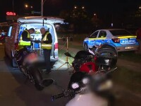 Razie în București la cei cu mașini și motociclete modificate. 50 au rămas fără talon
