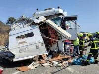 Un tânăr și-a ucis soția și apoi s-a sinucis într-un accident pe o autostradă din Spania