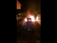 Motivul pentru care un bărbat din Piatra Neamţ a incendiat maşina soţiei, în faţa blocului