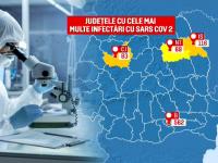 Record de infectări în București, spitalele aproape că nu mai fac față. Noi restricții impuse în România