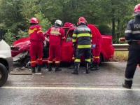Accident cu două victime în Maramureş, din cauza vremii. Ce s-a întâmplat