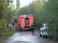 Evacuat din casă, un bărbat din Bacău i-a dat foc și s-a sinucis