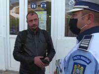 Explicaţiile celor prinşi de poliţie fără mască.