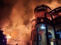 Incendiu violent în sectorul 3 al Capitalei. Un copil a murit