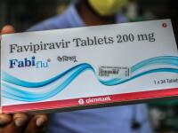 Primul lot de medicamente Favipiravir, pentru tratarea Covid-19 și a gripei, ajunge în România