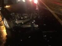 Accident pe un drum național din Dâmbovița. Un șofer a pătruns pe sensul opus de mers