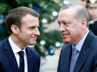 """Erdogan îl atacă dur pe Macron pentru atitudinea acestuia față de musulmanii din Franța. """"Faceți teste de sănătate mintală"""""""