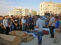 Aproape 80 de rebeli au fost uciși în atacurile aeriene lansate de Rusia în nord-vestul Siriei