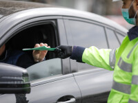 Şofer prins cu 122 km/h în localitate, într-un sat din Galaţi. Incredibil de cât timp avea permisul