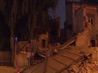 O casă monument din centrul Capitalei, construită în anii \'20, s-a prăbușit miercuri seară. Cum arăta înainte