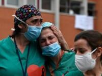 Situație dramatică în Europa. Italia înregistrează un nou record de infectări cu SARS-CoV-2