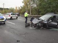 Accident grav produs pe DN1, din cauza unui bărbat în vârstă de 84 de ani