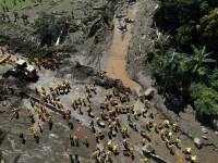 Cel puţin nouă morţi în urma unei alunecări de teren în El Salvador: 40 de case au ajuns sub pământ