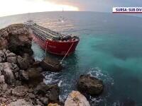 """Autoritățile bulgare au oprit operațiunea de mutare a ureei de pe nava eșuată în zona """"Kaliakra"""""""
